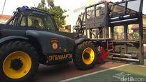 Polisi Surabaya Siapkan Kendaraan Ini Jelang Pelantikan Jokowi