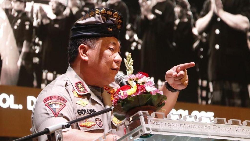 Kumpulkan Pecalang se-Bali, Kapolda Ajak Jaga Keamanan Pulau Dewata