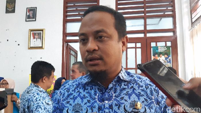 Wagub Sulsel Andi Sudirman Sulaiman (Noval Dhwinuari Antony/detikcom)