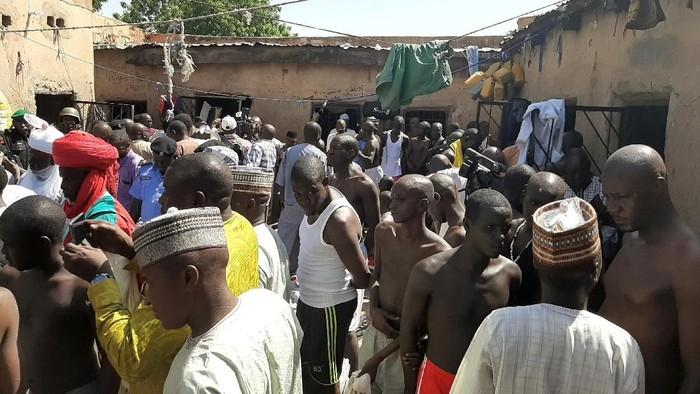 Pembebasan 500 Anak di Nigeria (Foto: dokumen Reuters)