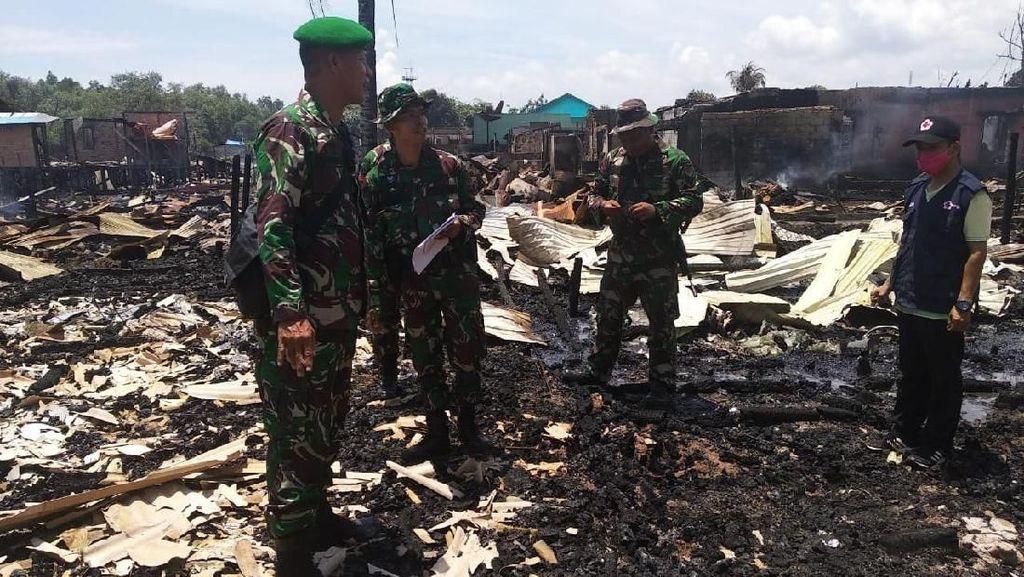 BNPB: 146 Rumah Terbakar Akibat Rusuh di Penajam Paser Utara