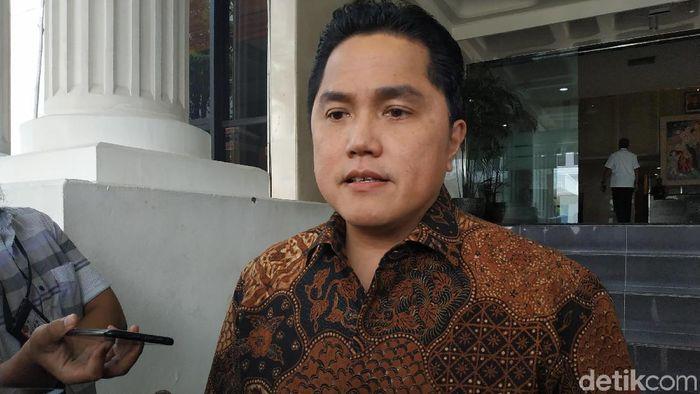 Foto: Erick Thohir (Andhika/detikcom)