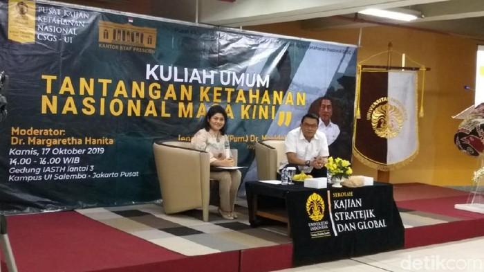 Kepala Staf Kepresidenan (KSP) Moeldoko (Dwi Andayani/detikcom)