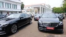 18 Mercy Disiapkan untuk Tamu Negara di Pelantikan Jokowi, Anggaran Rp 1 M