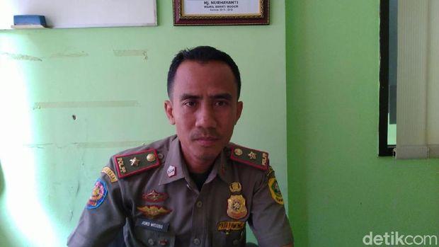 Kasi Penyelidikan dan Penyidikan Bidang Penegakan Hukum Perda Satpol PP Kabupaten Bogor, Joko Widodo