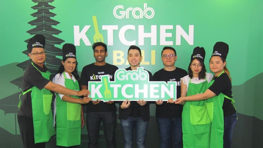 Ekspansi Jaringan Cloud Kitchen, Grab Buka Food Court Online di Bali