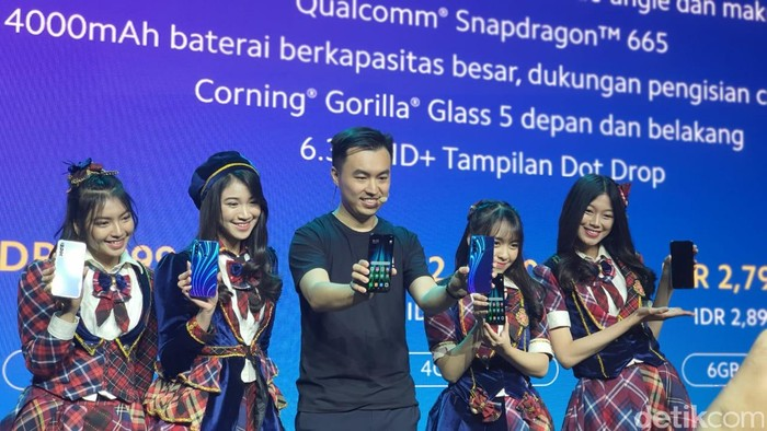 Peluncuran Redmi Note 8. Foto: Adi Fida Rahman/detikinet