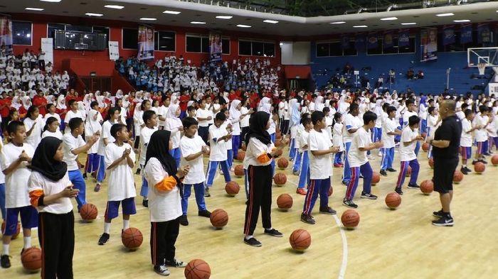 NBA dan DKI Jakarta menjalin kerja sama penerapan kurikulum basket di sekolah-sekolah (Foto: dok. NBA)