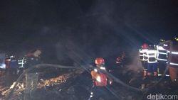Kebakaran Pasar Mungkid Magelang Berhasil Dipadamkan