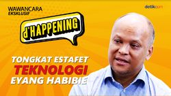 dHappening Ilham: Tongkat Estafet Teknologi Eyang Habibie