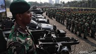 Personel TNI Jaga Pelantikan Tanpa Senjata, Tapi Pasukan Cadangan Siaga