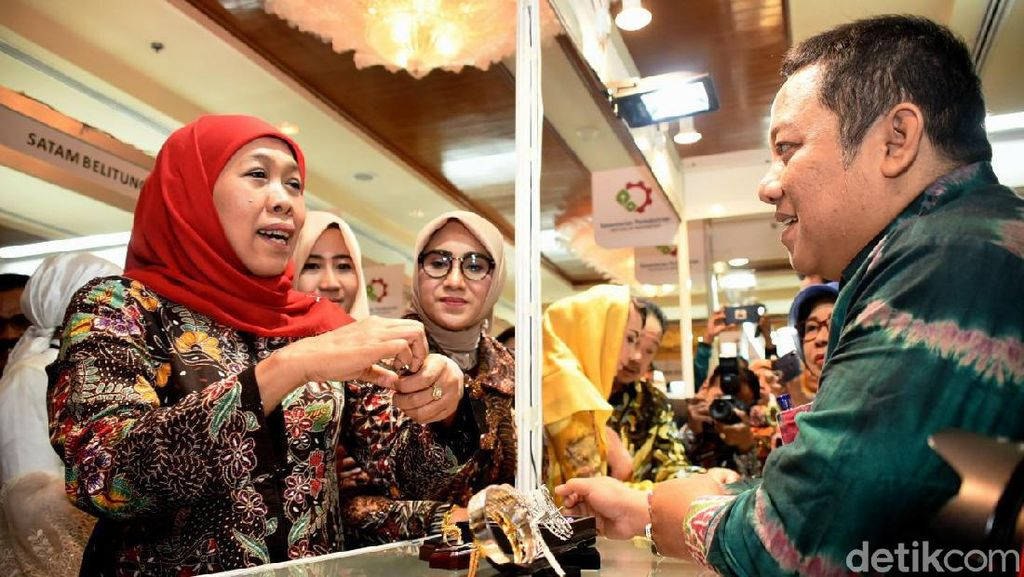 Gubernur Khofifah Ingin Industri Perhiasan Jatim jadi Destinasi Wisata Baru