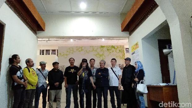 Kampanyekan Peduli Lingkungan, Pelukis Bandung Gelar Pameran 'Sariban'