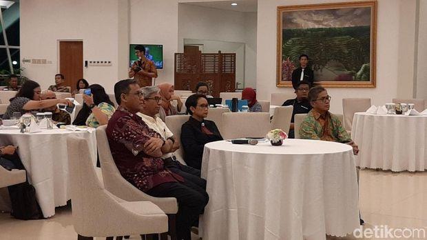 Menteri Luar Negeri, Retno Marsudi, menggelar acara nonton bareng (nobar) pemungutan suara anggota Dewan HAM PBB periode 2020-2022.