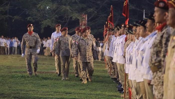 Prabowo dan Sandiaga dalam acara Gerindra. (Dok. Gerindra)