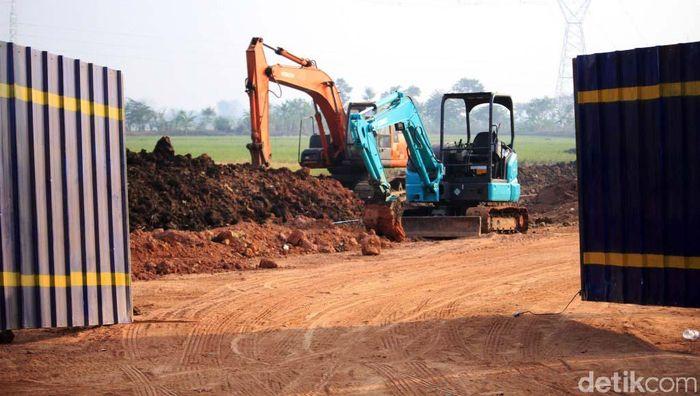 Pembangunan Jalan Lingkar Majalaya, Kabupaten Bandung tahap II mulai dikerjakan.