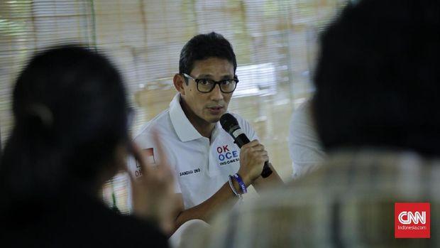 Cerita Sandi soal Pidato Prabowo Solidkan Gerindra