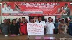 Penjual Kopi Daftar Calon Bupati Rembang Lewat PDIP