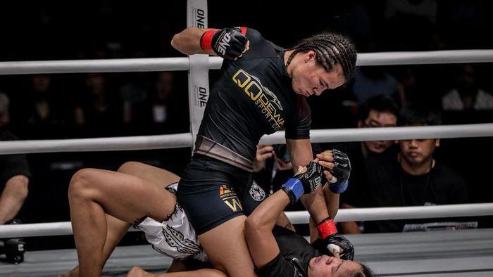 Priscilla siap meraih kemenangan di ONE Championship Jakarta bulan depan (dok.ONE Championship)