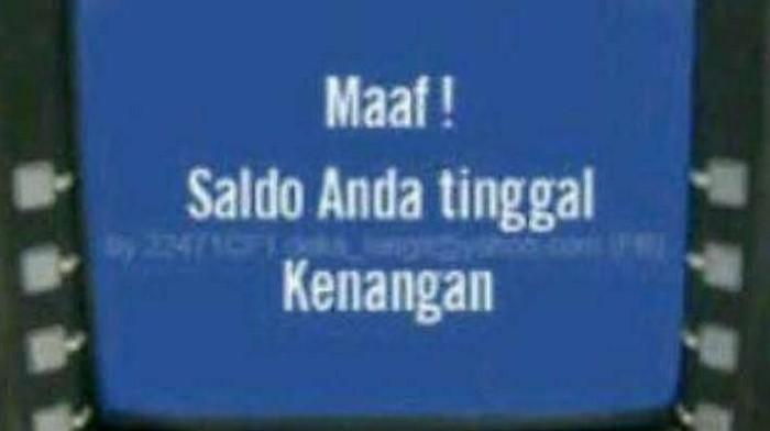 Meme saldo ATM (Foto: Dok. Memecenter, Facebook Cocoklogi Science)