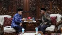 Pertemuan tersebut digelar di Gedung PP Muhammadiyah, Jakarta Pusat, kamis (17/10/2019).