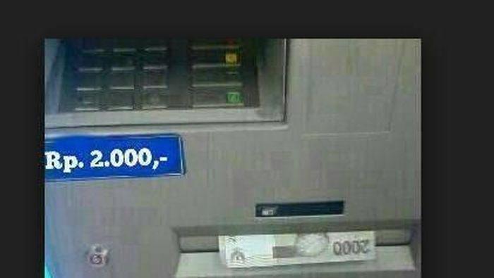 Bongkar Saldo ATM Artis