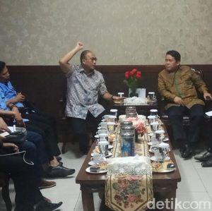 Andre Rosiade Sambangi KPPU, Tagih Hasil Laporan Semen China