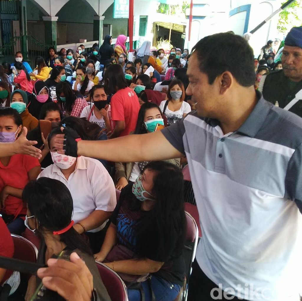 Pesan Walkot pada eks PSK di Sunan Kuning: Saatnya Insaf dan Hijrah