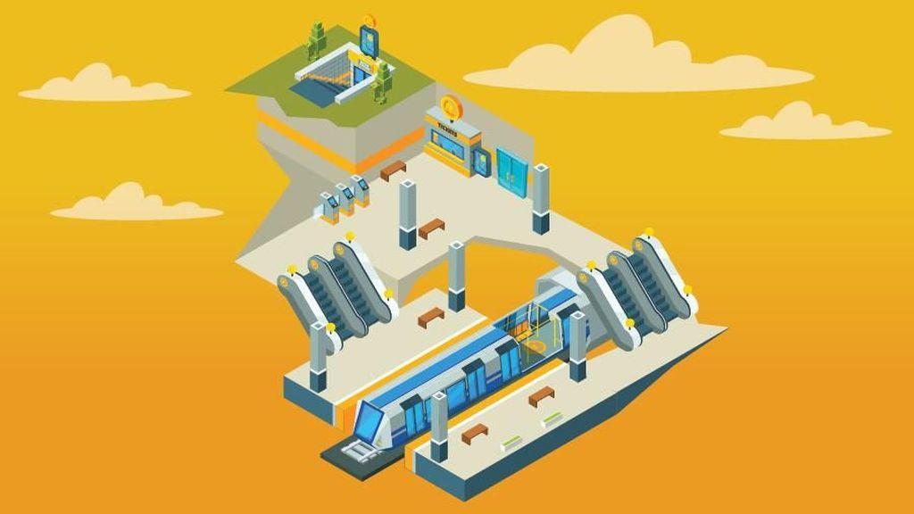 2025, Lebak Bulus-Kota 45 Menit Naik MRT