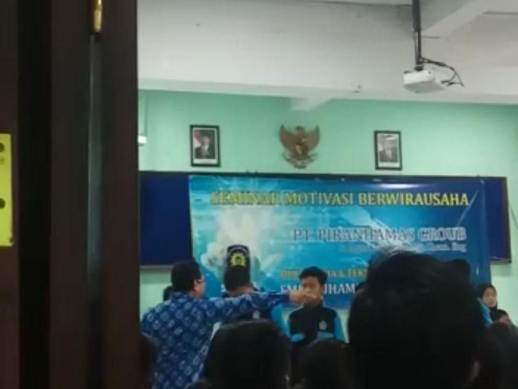 Viral! Motivator Tampar Pelajar SMK di Malang