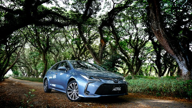 All New Corolla Altis Hybrid Foto: Pool (Toyota)