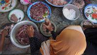 Gurih, Sayur Ares Khas Suku Sasak Lombok Wajib dari Pisang Kepok