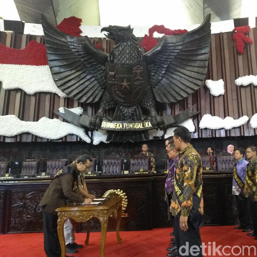 MPR Gelar Geladi Kotor Pelantikan Presiden-Wakil Presiden