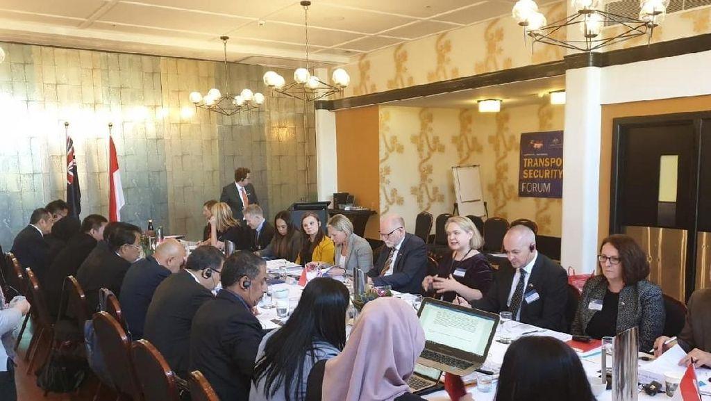 Australia dan Indonesia Bahas Isu Keamanan Laut dan Pelabuhan