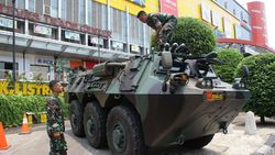 Dijaga Aparat, Begini Suasana di Glodok Jelang Pelantikan Jokowi