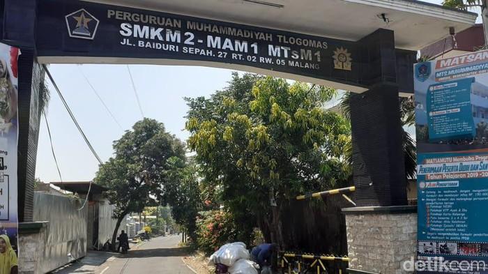 SMK Muhammadiyah 2 Kota Malang/Foto: Muhammad Aminudin