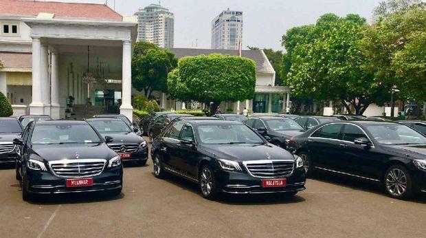Jokowi Dilantik, Kantor Kepresidenan Sewa Belasan Mercy