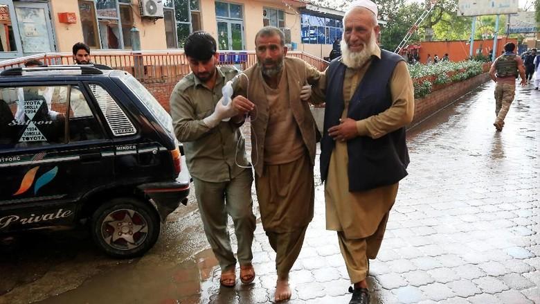 Korban Jiwa Akibat Ledakan di Masjid Afghanistan Bertambah Jadi 62 Orang
