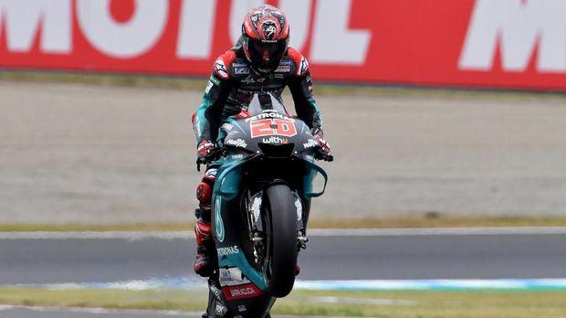 Quartararo Dijagokan Ganti Rossi yang Mulai Menurun di MotoGP