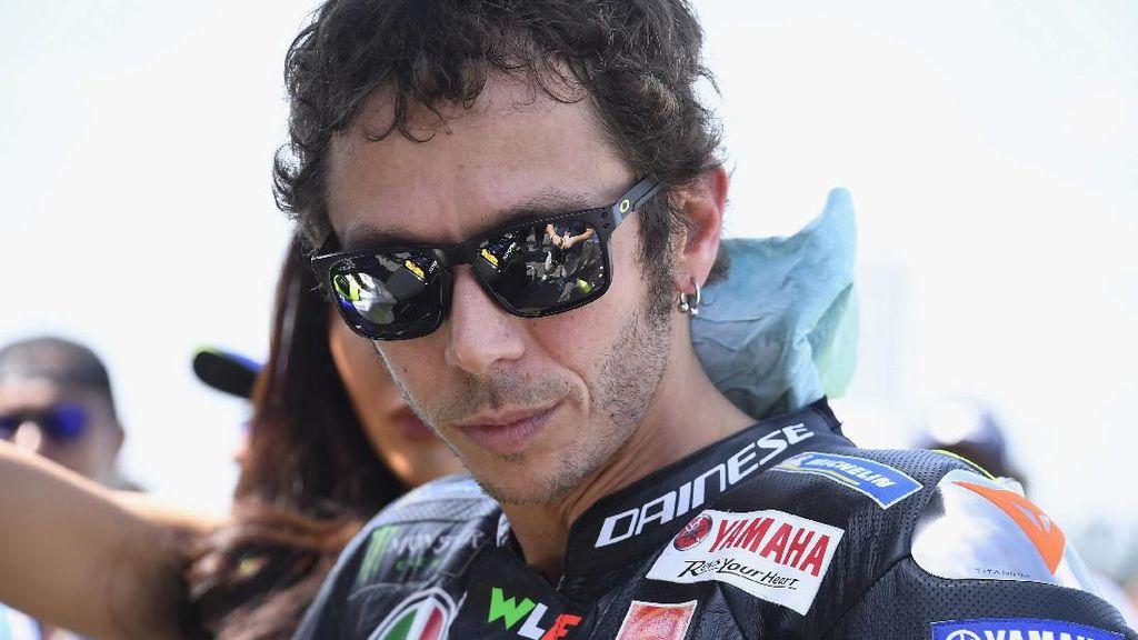 Lanjut Balap atau Pensiun dari MotoGP, Rossi Umumkan Nasib di Tengah Musim