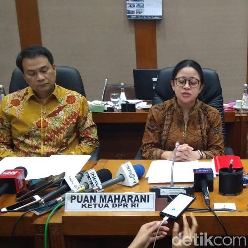 Rapat Penyusunan Formasi DPR Sepakati Jumlah Anggota Komisi-Banggar