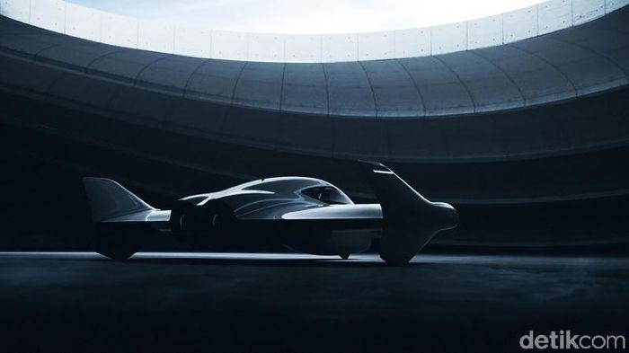 Ilustrasi Mobil Terbang. Foto: Porsche