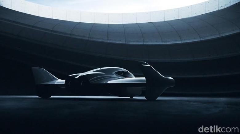 Mobil terbang Porsche-Boeing Foto: Porsche