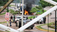 Baku Tembak Polisi-Kartel Narkoba di Meksiko, 14 Orang Tewas