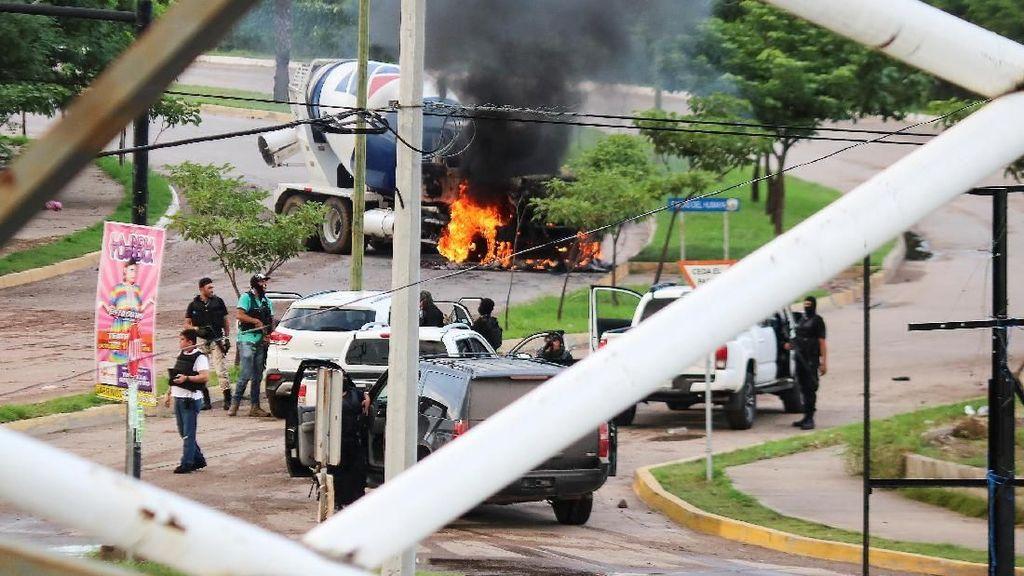 22 Orang Tewas Akibat Baku Tembak Polisi-Kartel Narkoba di Meksiko