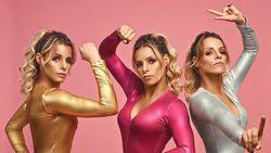 Kembar Tiga Cantik yang Saling Bertanding di Kompetisi Binaraga