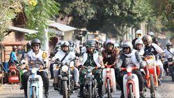 Warga Probolinggo Sambut Hari Santri dengan Touring Kamtibmas