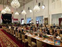 Jokowi ke Menteri: 5 Tahun Kerja Keras, Waktu Terasa Cepat