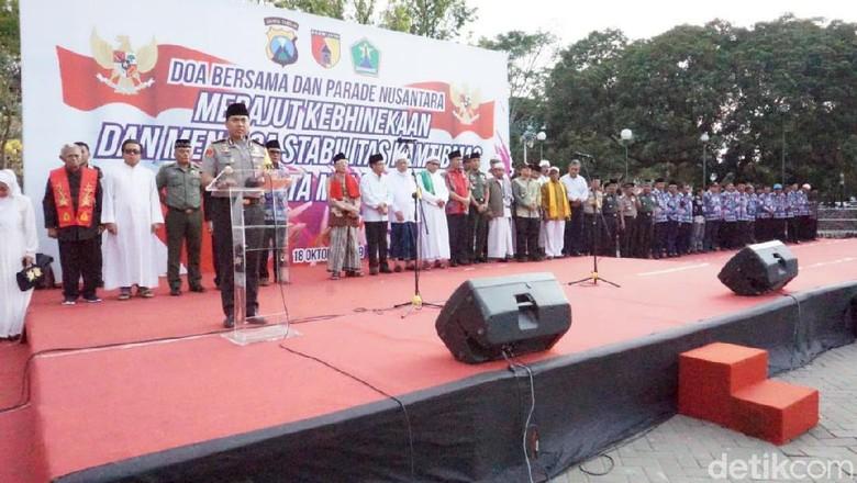 Jelang Pelantikan Presiden, Doa Bersama dan Parade Nusantara di Kota Malang