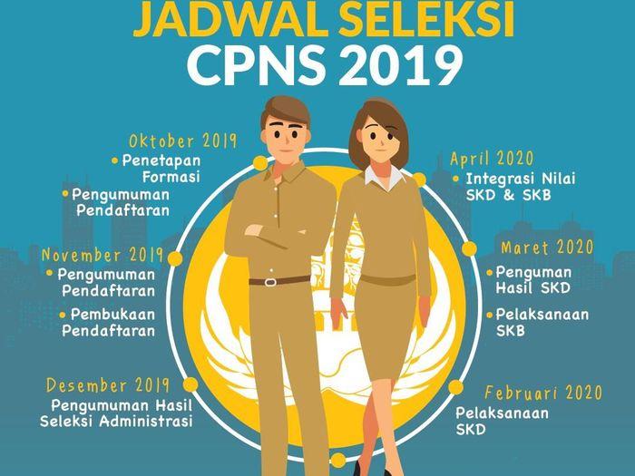 Cara Daftar CPNS di sscn.bkn.go.id dengan Mudah/Foto: CPNS (Tim Infografis: Zaki Alfarabi)